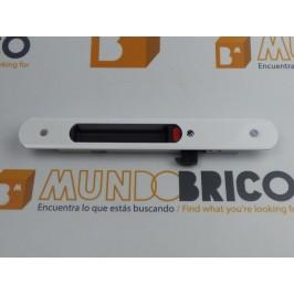 Cierre embutido 3020 (muelle) IZQUIERDO Blanco serie normal