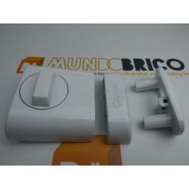 Cerrojo SUPRA METAL y PVC 4930 LINCE Blanco