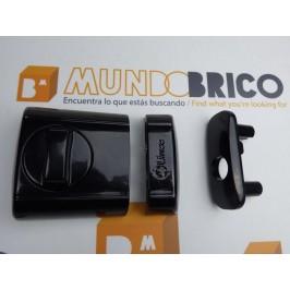 Cerrojo SUPRA METAL y PVC 4930 LINCE Negro
