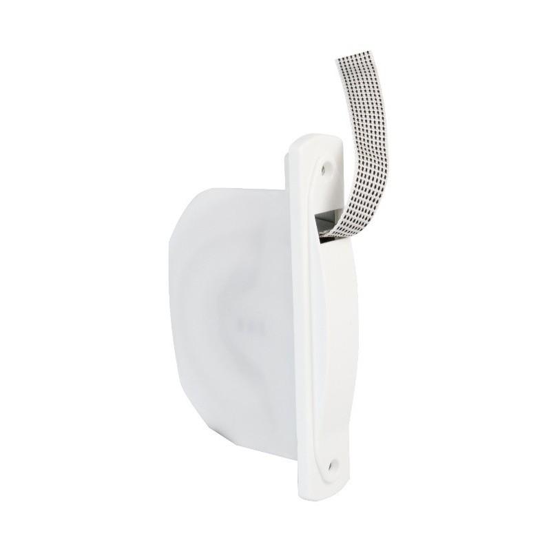 Recogedor de persiana compacto 20mm. BLANCO