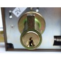 Cerradura AZBE YALE 125 80 HP Izquierda