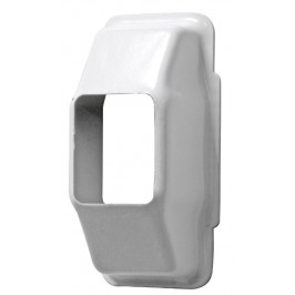 Carcasa Guia Cinta Persiana 22mm BLANCO