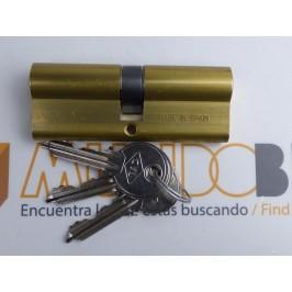 Cilindro CVL 5990 25x25 LATÓN leva corta