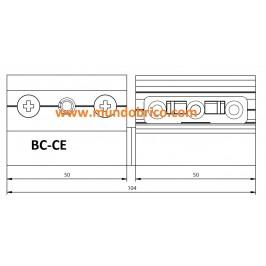 Bisagra BC-CE Derecha Plata BAICHA