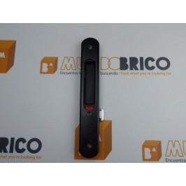 Cierre embutido C-3010 (muelle) DERECHO Negro serie europea
