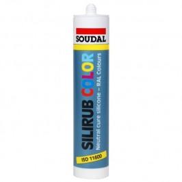 Silicona SILIRUB 5010 AZUL SOUDAL Neutra