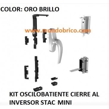 KIT Oscilobatiente STAC 1 hoja ORO BRILLO MINI