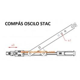 KIT Oscilobatiente STAC 1 hoja ORO BRILLO MICRO