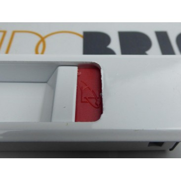 Cierre embutido IZQUIERDO Blanco serie 5200 TECNAC