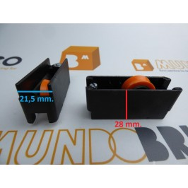 Rueda serie 5200 nylon
