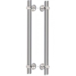 Tirador DOBLE o JUEGO MUNICH 500mm. INOX