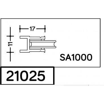 Rueda de aluminio serie 1000 SA-1000 SAN ANTONIO