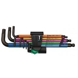 Juego de llaves acodadas WERA HEX-PLUS 950/9