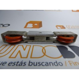 Rueda tándem aluminio SA-19-15 SAN ANTONIO