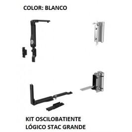 KIT Oscilobatiente LÓGICO STAC 1 hoja BLANCO GRANDE