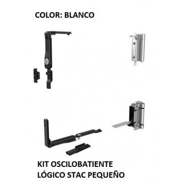 Oscilobatiente LÓGICO STAC 1 hoja BLANCO PEQUEÑO