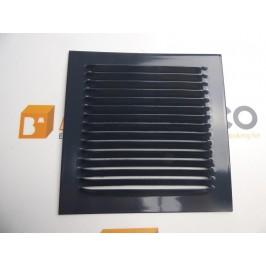Rejilla de ventilación 15x15 RAL 7016 GRIS OSCURO CHAPA DE ALUMINIO
