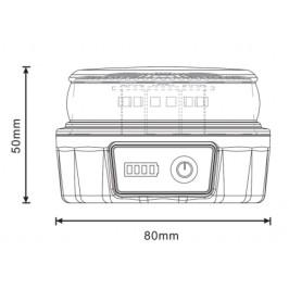 Baliza V16 de emergencia LED