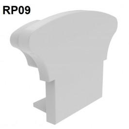 Remate de aluminio para pasamanos RP09 Alumabe