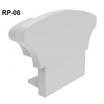 Remate de aluminio para pasamanos RP08 Alumabe