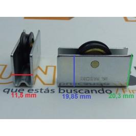 Rueda metálica 1004/7 PABOSE