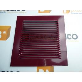Rejilla de ventilación 20x20 RAL 3005 BURDEOS