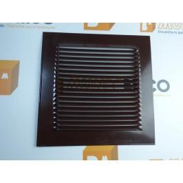 Rejilla de ventilación 20x20 RAL 8017 MARRÓN