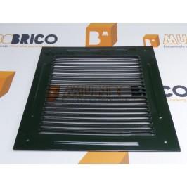 Rejilla de ventilación 20x20 RAL 6009 VERDE