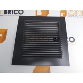 Rejilla de ventilación 20x20 GRIS GRAFITO