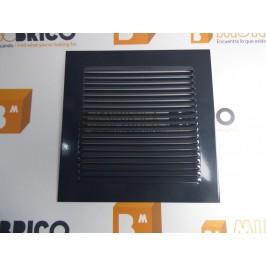 Rejilla de ventilación 20x20 RAL 7016 GRIS