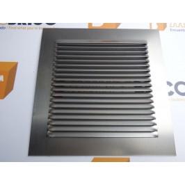 Rejilla de ventilación 20x20 INOX