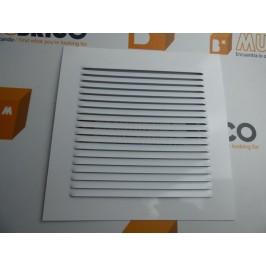 Rejilla de ventilación 20x20 BLANCO