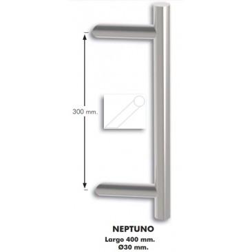 Tirador individual de aluminio NEPTUNO NEGRO