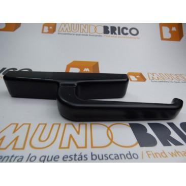 Cremona practicable JS Negro con raya o hendidura en el mango