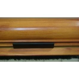 Mosquitera Enrollable Vertical Lacado Madera