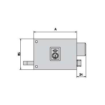 Cerradura CVL 125-AR-10-I