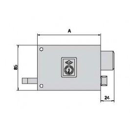 Cerradura CVL 1125-A-8-D
