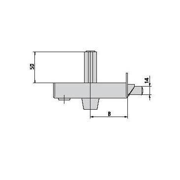 Cerradura CVL 1125-BR-12-D