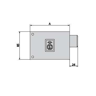 cerradura cvl 1124A8-I