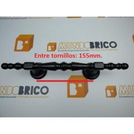 Tirador 1718/P 310 mm. Negro