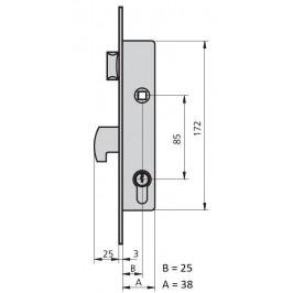 cerradura cvl 1990/0-25