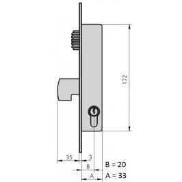 cerradura cvl 1990V/0-20
