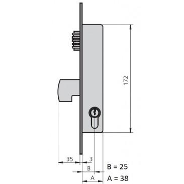 cerradura cvl 1990V/0-25