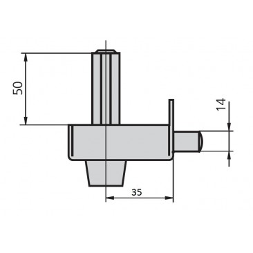 cerradura cvl 56C60-I