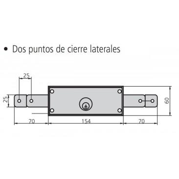 Cerradura TRAPA CVL 11-A