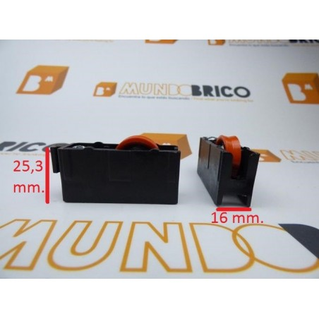 Rueda serie 6200 nylon RN 108