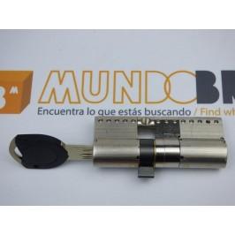 Cilindro TESA TK-100 30x30 Niquelado Leva larga
