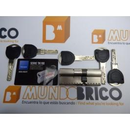 Cilindro TESA TK-100 30x45 Niquelado Leva larga