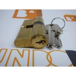 Cilindro TESA 5200 40x40 Latón Leva corta