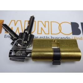 Cilindro TESA 5200 40x50 Latón Leva corta